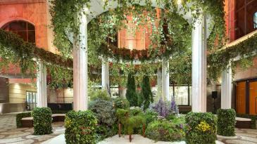 卡地亞Etourdissant頂級珠寶晚宴-一樓花園