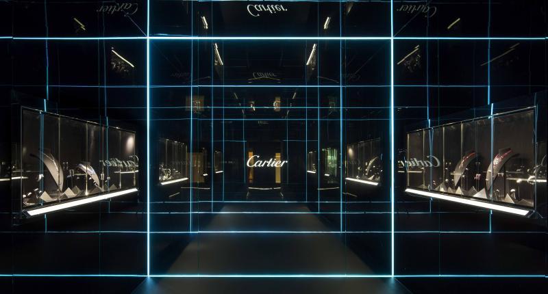 《Cartier Magicien》頂級珠寶展