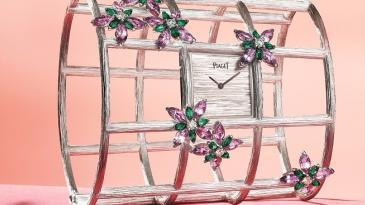 Paper Flower Garden主題腕錶