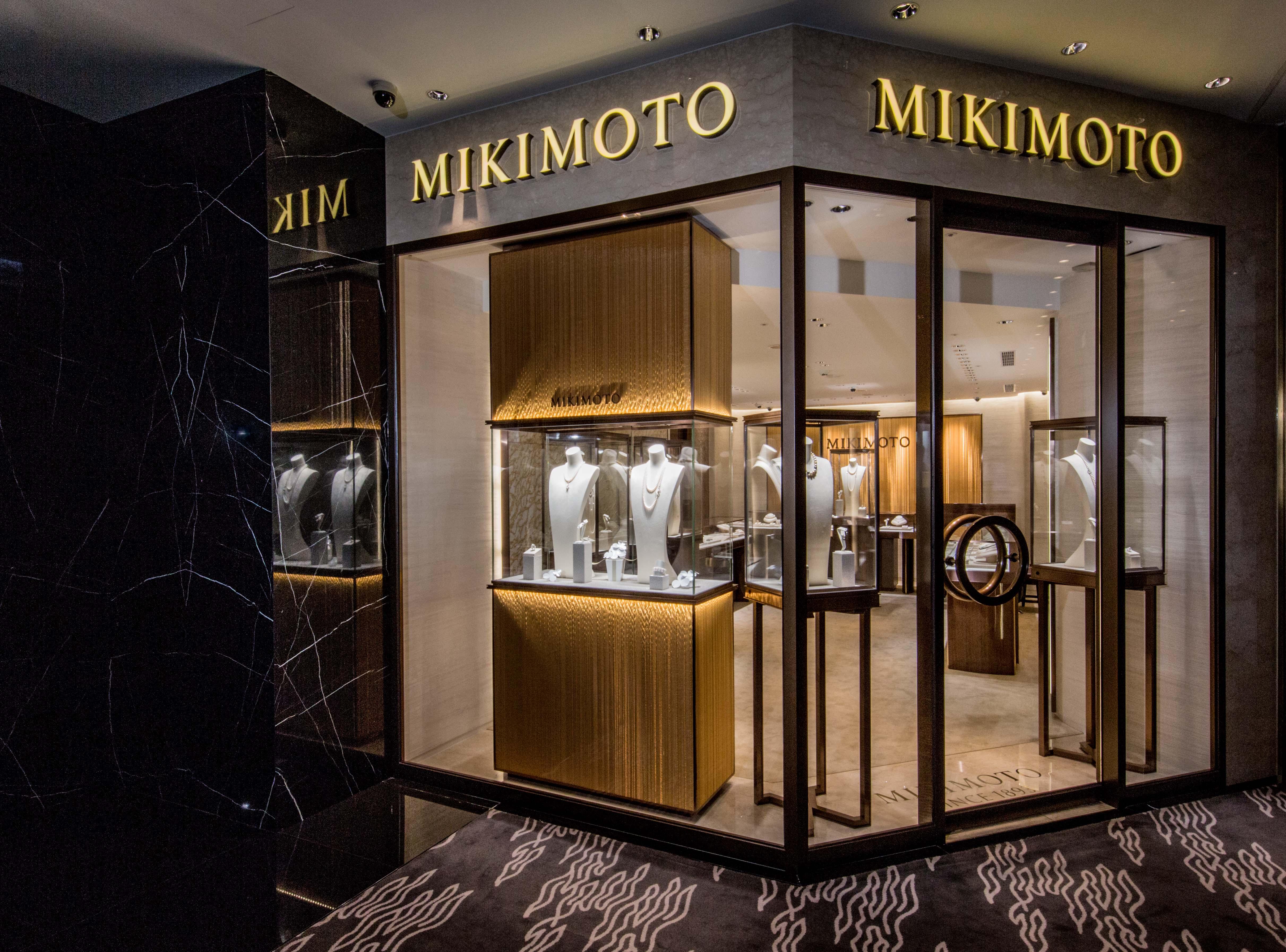 MIKIMOTO台北晶華酒店全新形象概念店