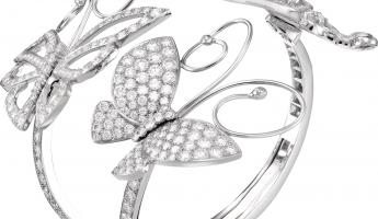 VAN CLEEF & ARPEL Flying Butterfly 高級珠寶手環