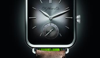 H. MOSER & CIE 耐人尋味的 SWISS ALP WATCH