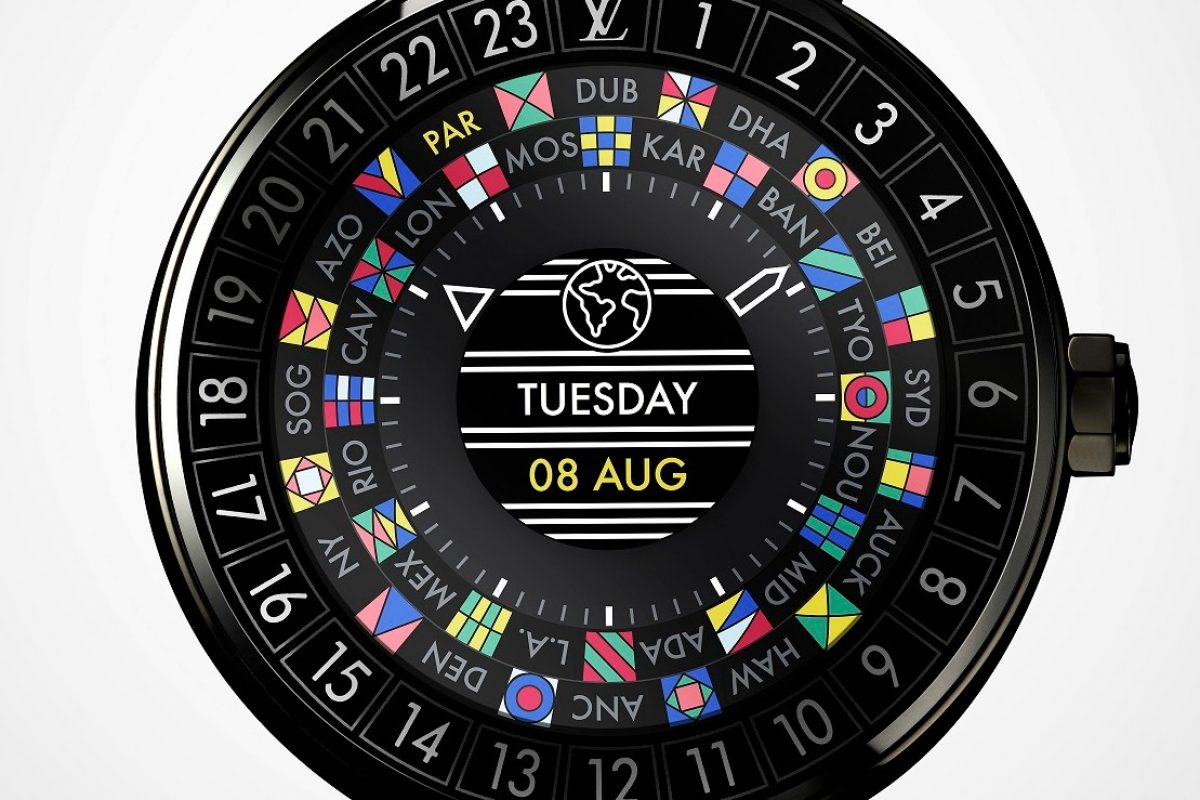 LOUIS VUITTON TAMBOUR HORIZON 智能腕錶