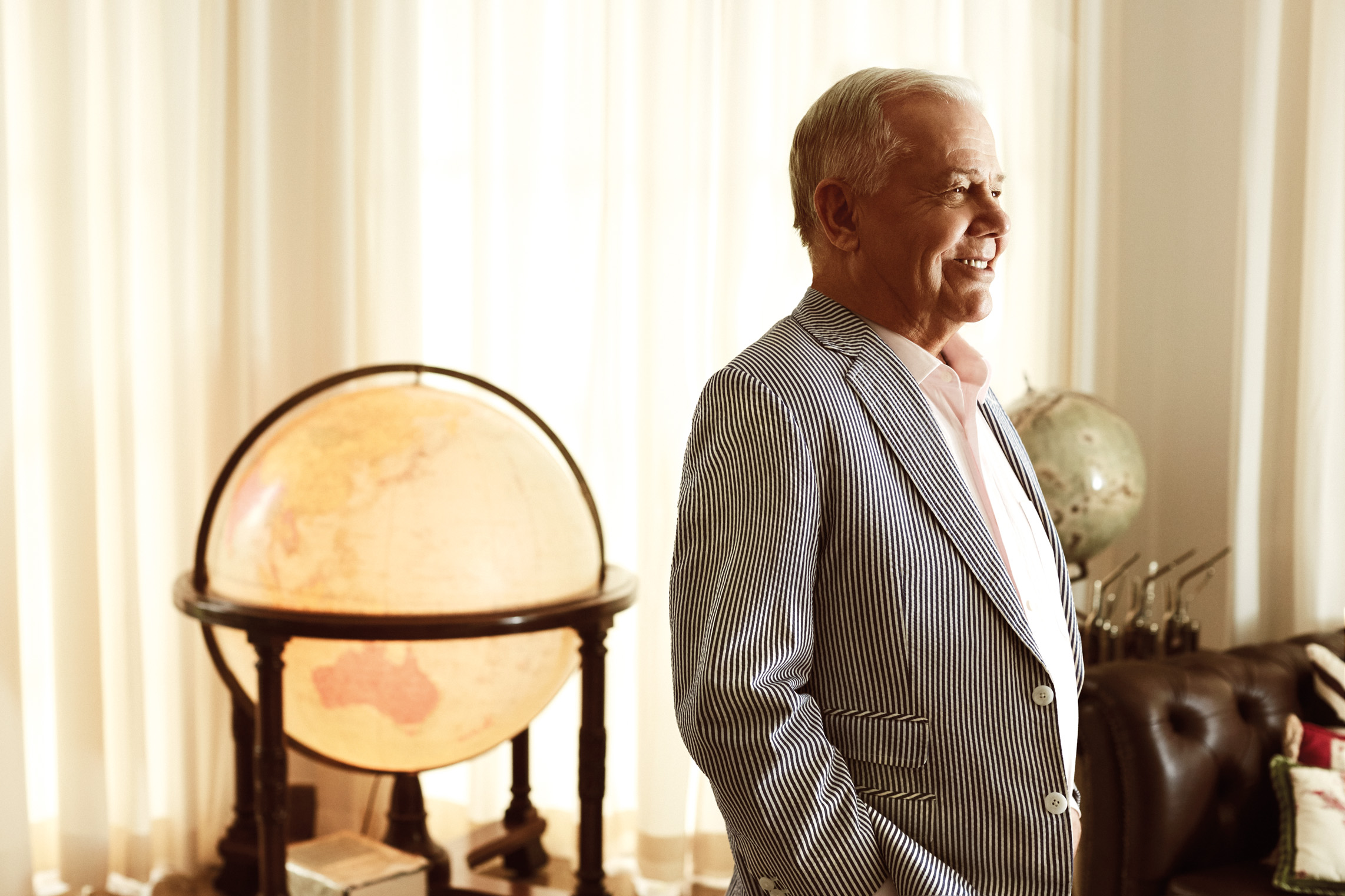Jim Rogers takes on the #PrestigeQuestionnaire