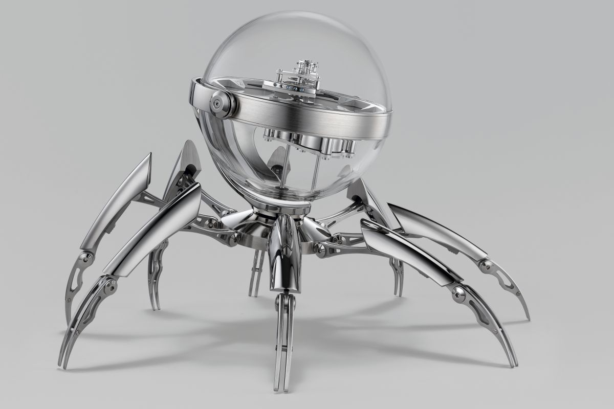 MB&F X L'Epee 1839 Launch 8-Day Octopod Clock