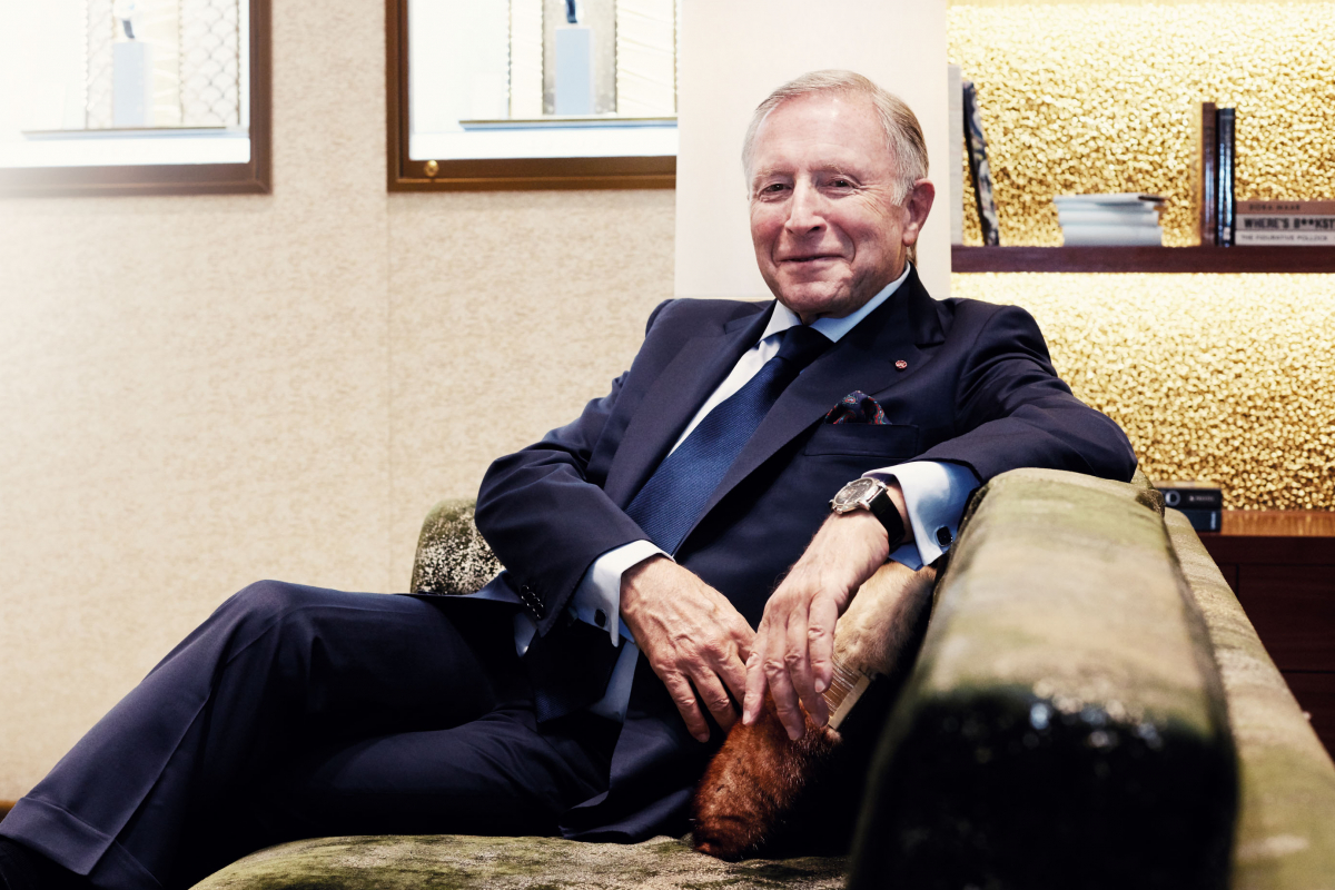 Laurence Graff's sparkling success story and why he loves Singapore