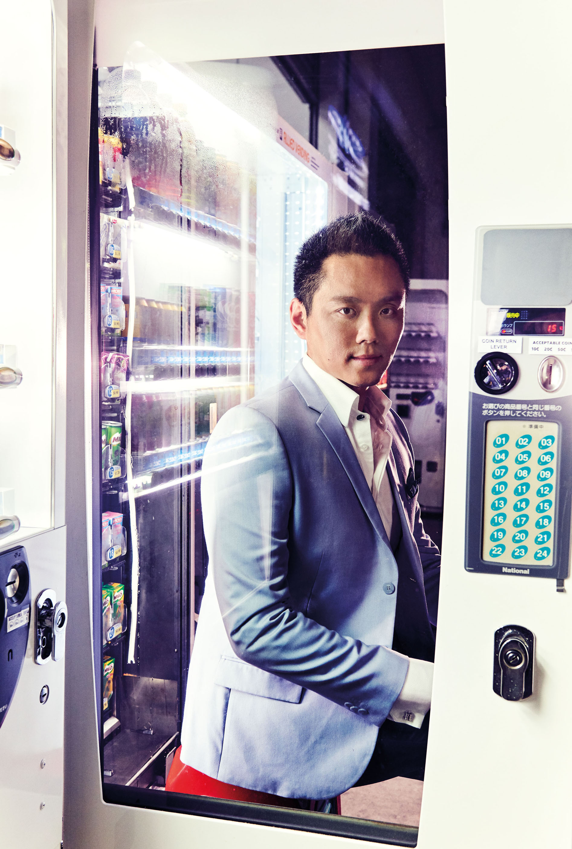 Vernon Tan and the queen of vending machines