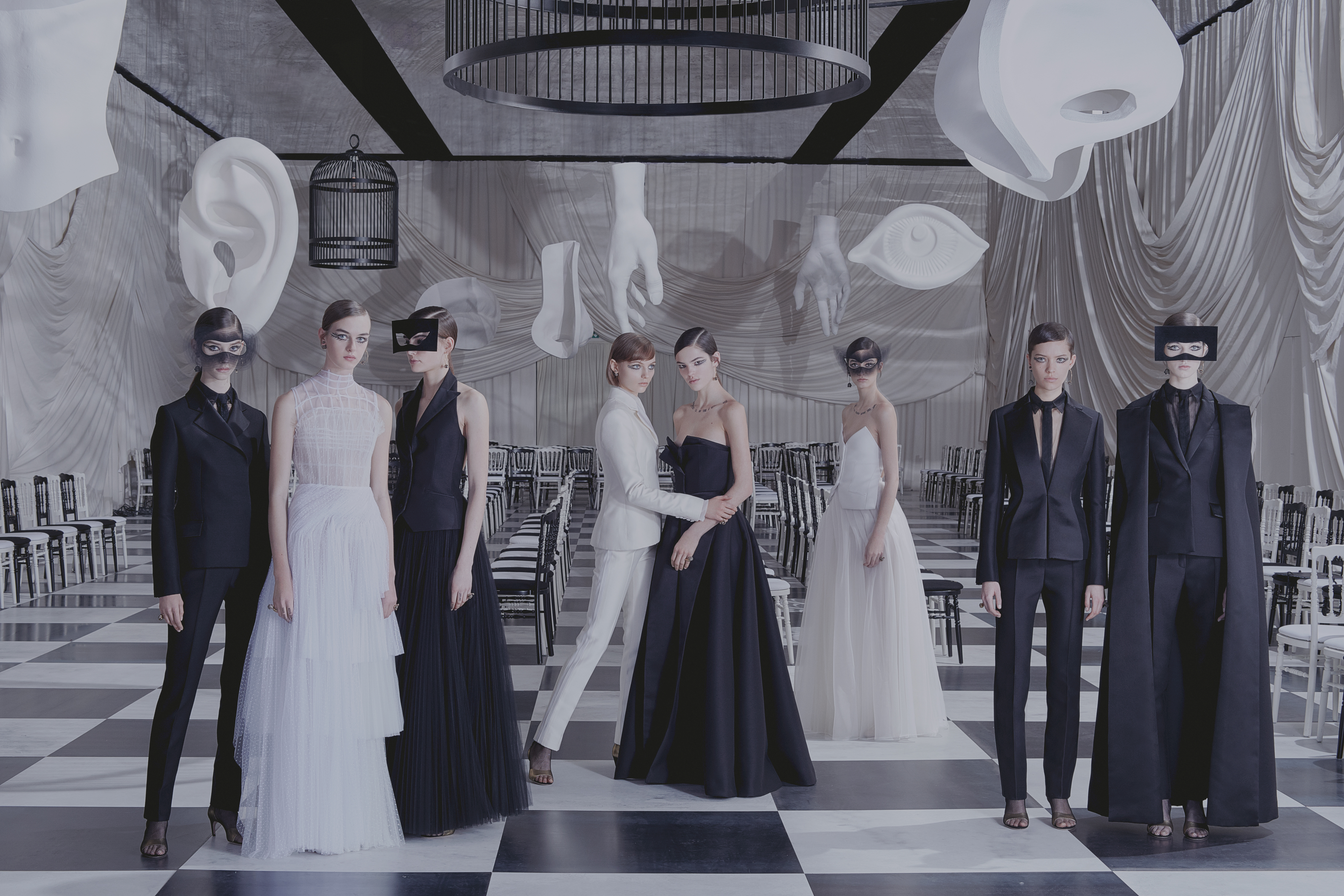 25 looks from the Christian Dior Haute Couture Spring-Summer 2018 Collection