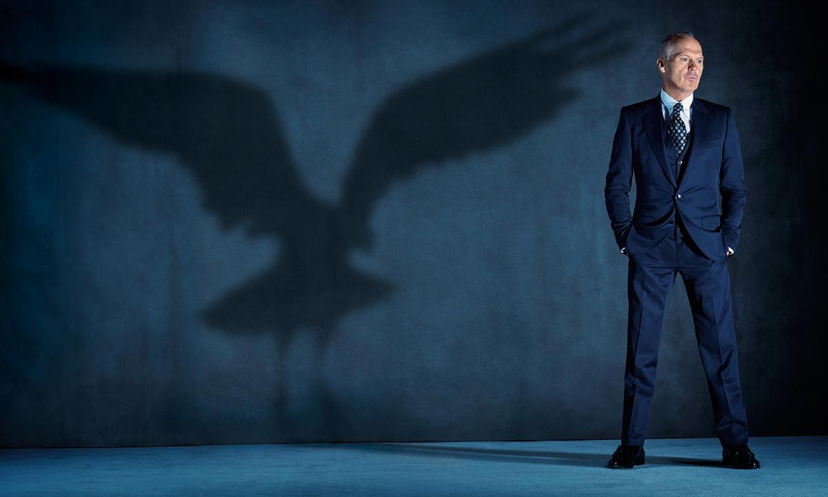 MICHAEL KEATON: HERO SHOT