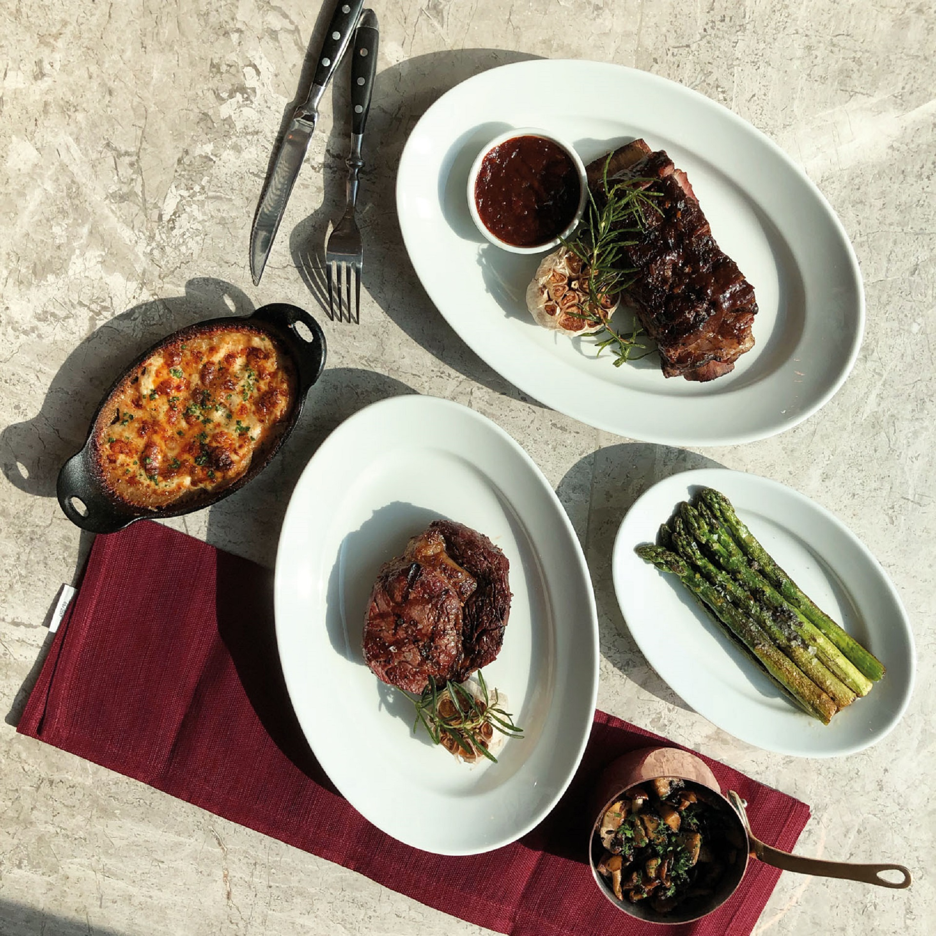 Great steaks with Chef Josephine Loke at 665°F