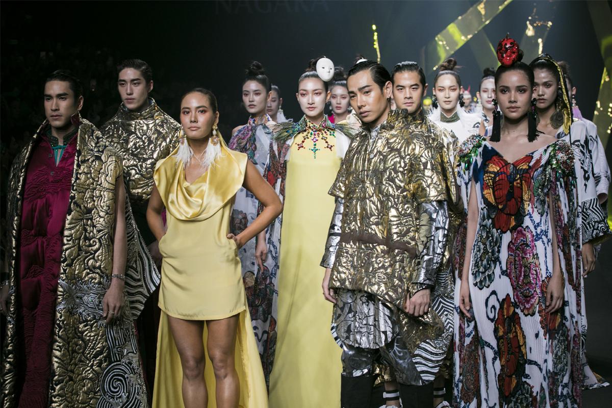 Bangkok International Fashion Week 2018: Nagara
