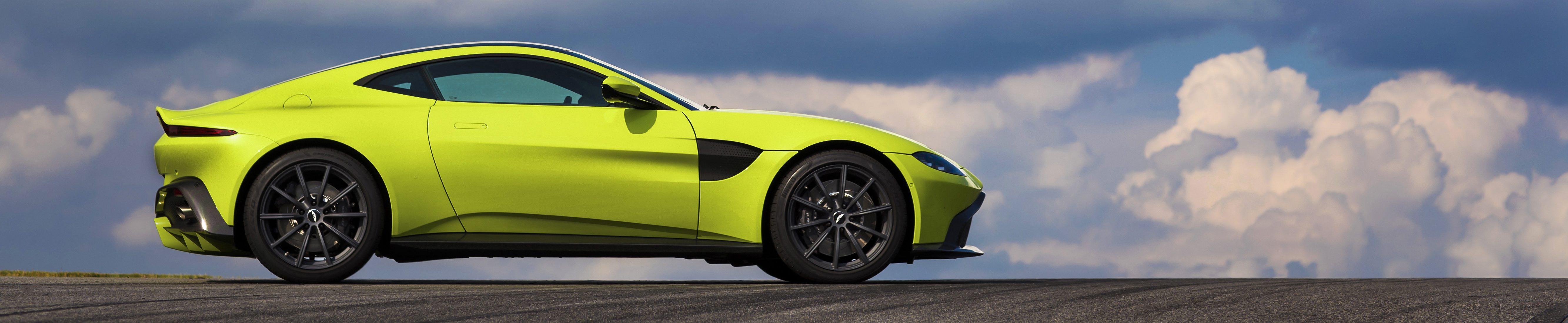 The New Aston Martin Vantage is a Rare Breed