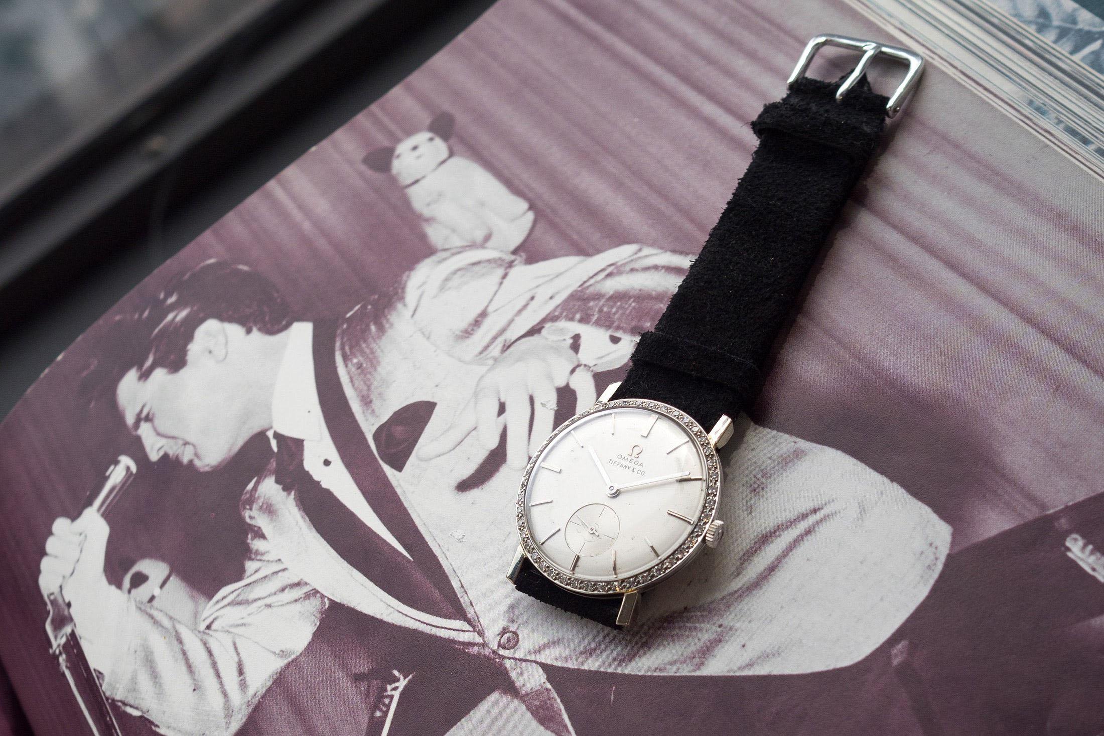 貓王的 OMEGA 腕錶以創下世界紀錄價格落槌成交