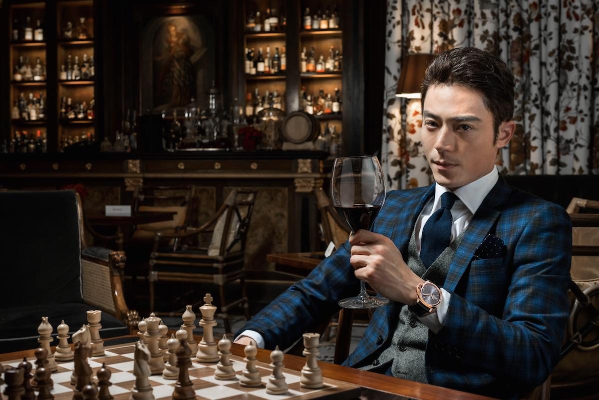 Actor Wallace Huo As Panerai Ambassador for Greater China