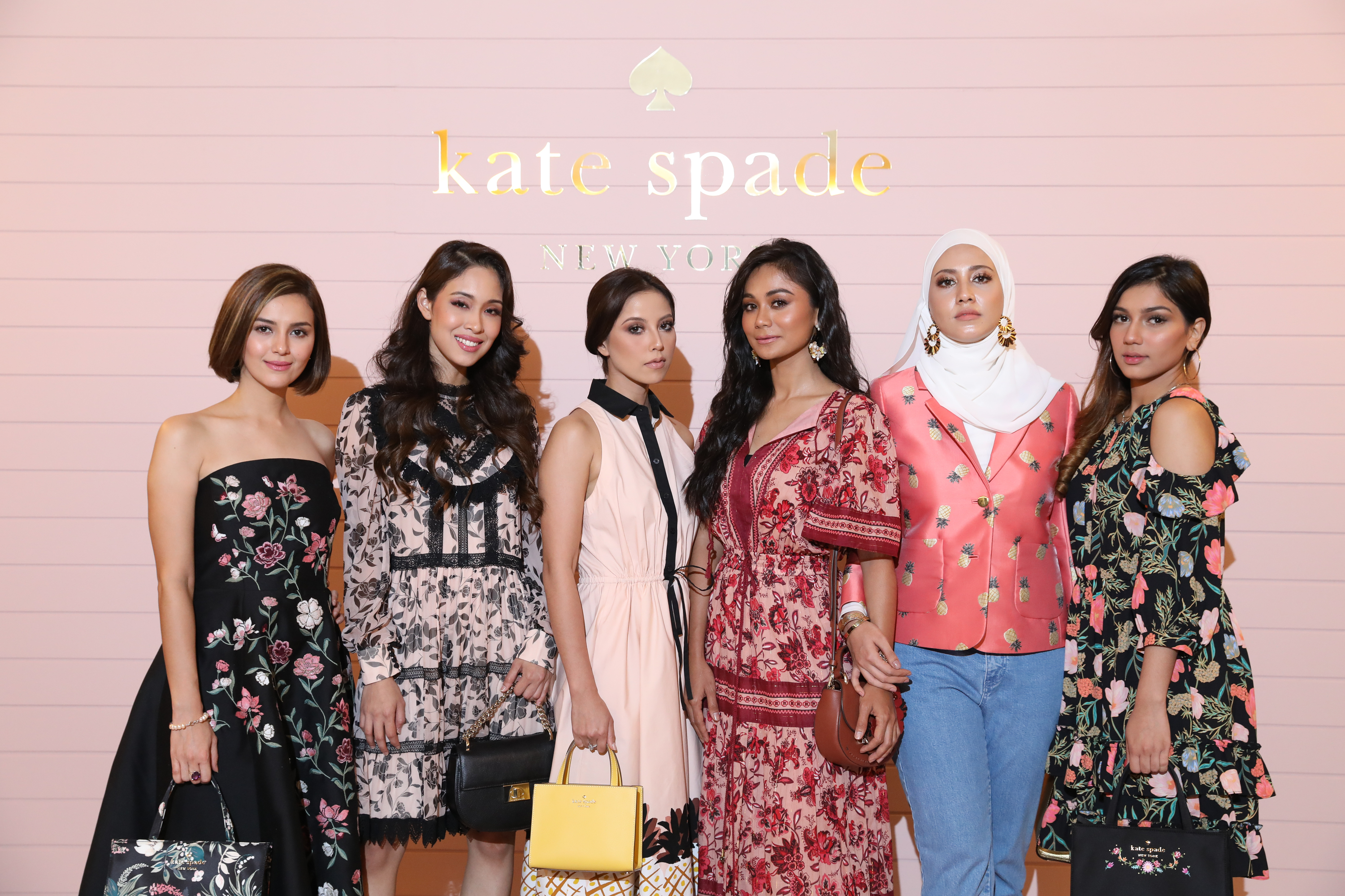 All The Local Celebs Spotted At The Kate Spade Fall 2018 Preview