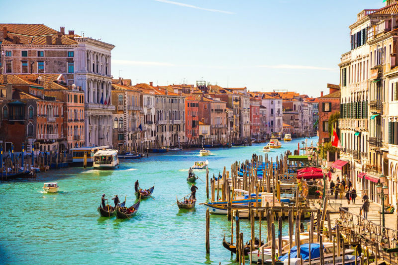 Honeymoon in The Domomites and Venice