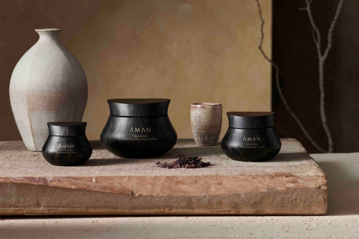 Aman Brings its Spa Expertise to Skincare