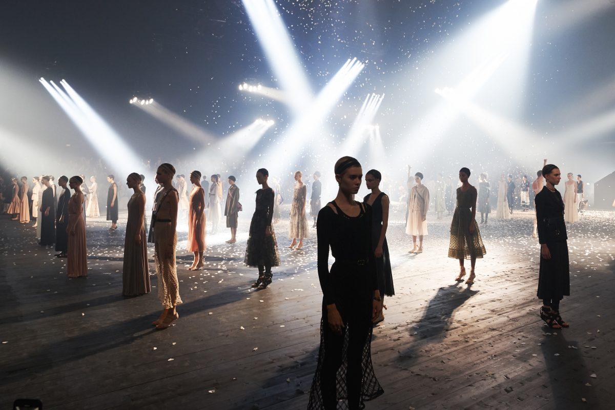 Interview With Maria Grazia Chiuri: Dancing To Dior's SS19 Runway Show