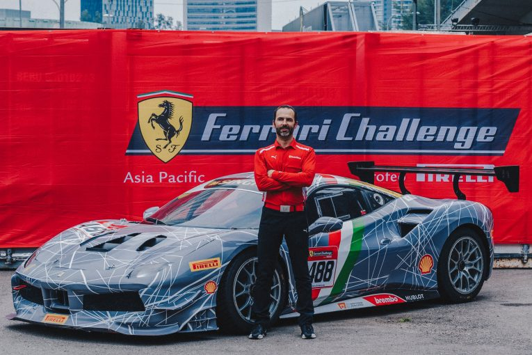Louis Colmache Talks About The Joys Of Racing In A Ferrari As A