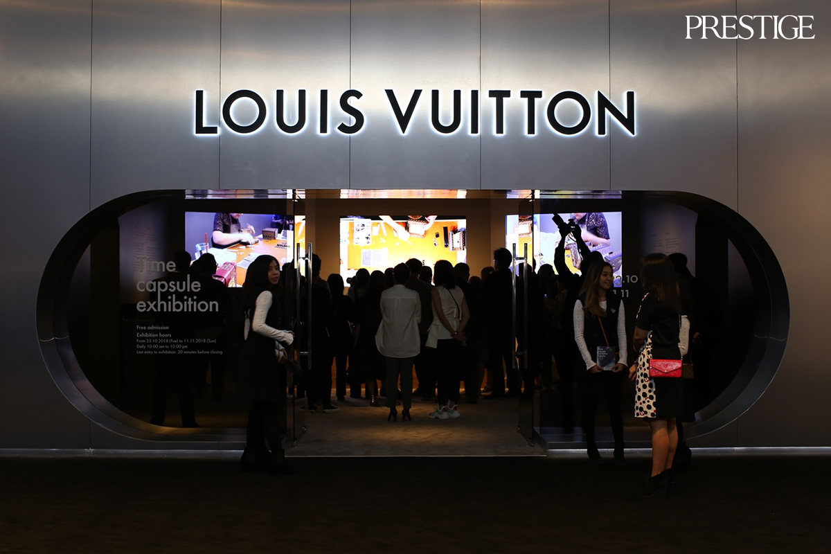 1d86f0a537a The Legacy of Louis Vuitton in Time Capsule Exhibition at Senayan City