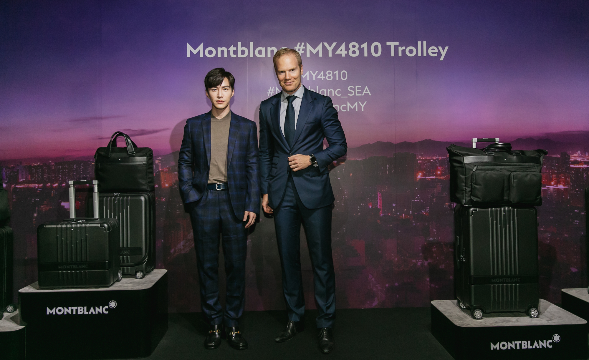 The Montblanc #MY4810 Trolley Is The Ultimate Companion For Urban Explorers