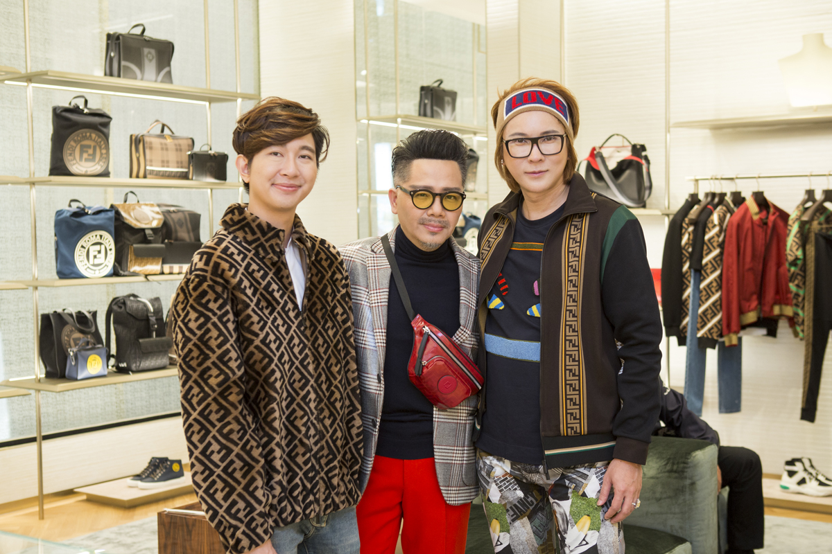 Fendi Welcomes Socialites and VIPs to an Exclusive Preview of Resort 2019 with Prestige