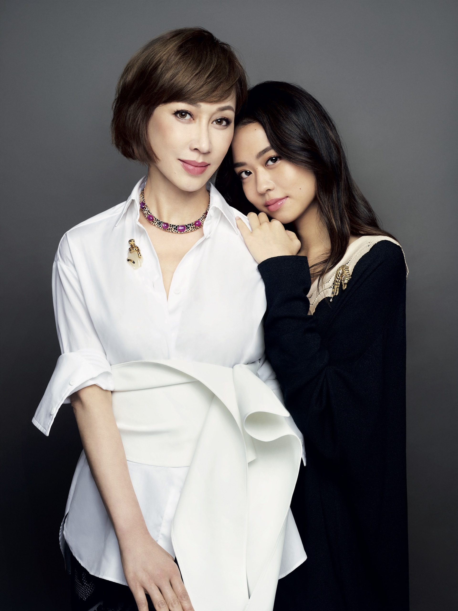 Grace and Coco Chng, the first in Singapore to model Cartier Collection archival pieces, share the same love for jewellery