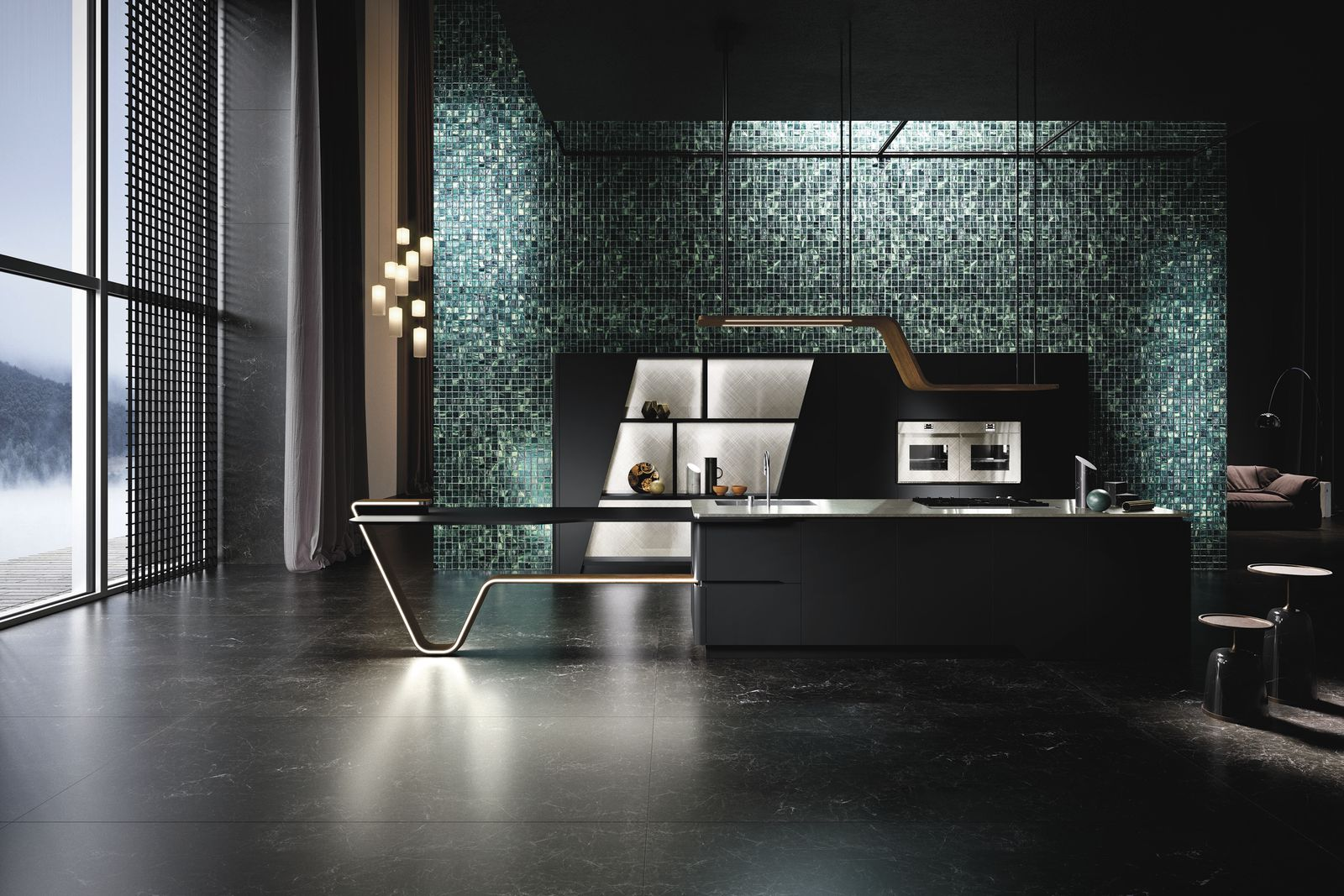 Italian design Snaidero and Pininfarina JC Packer's Hoffen Ola Vision