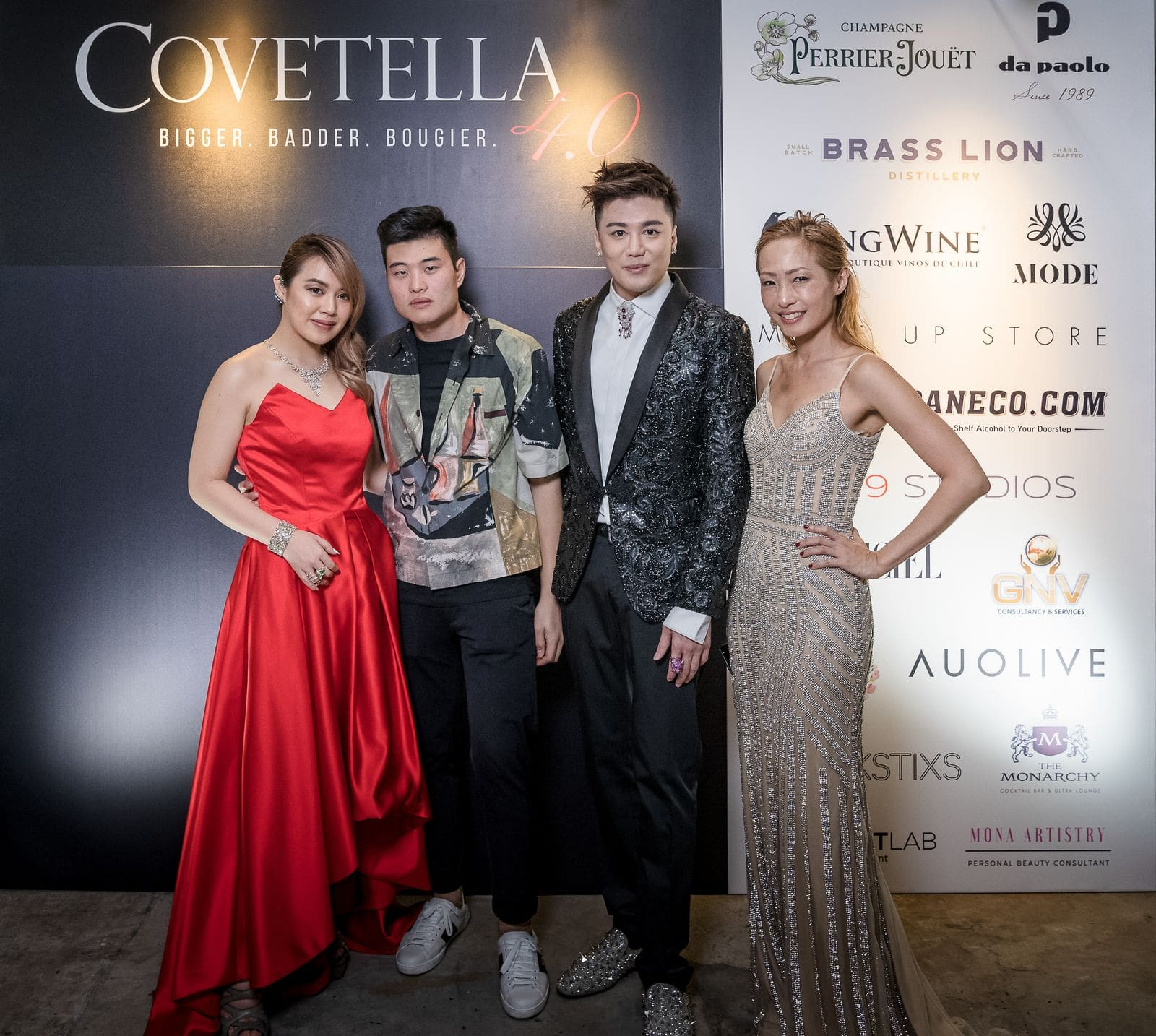 Covetella fourth 4th anniversary Sukki Singapura and Carol Chen