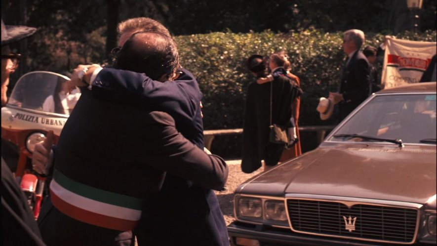Maserati in Godfather