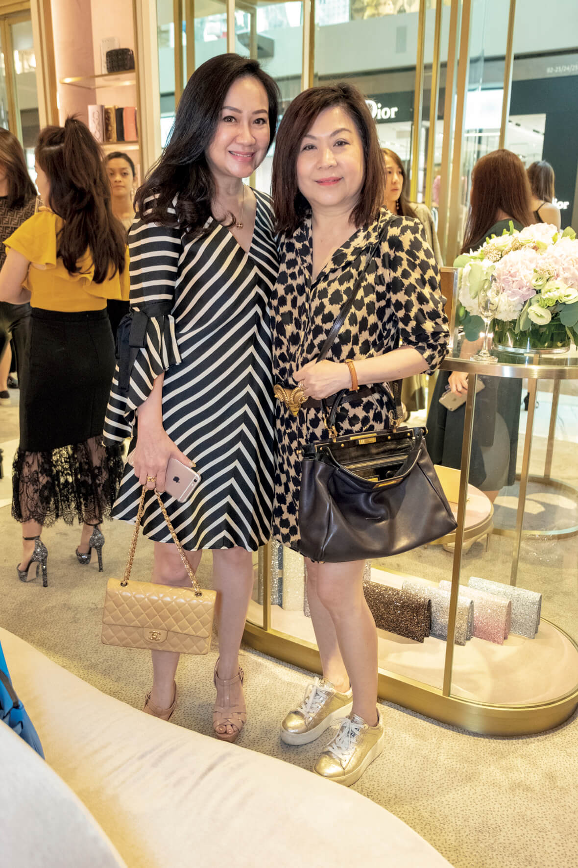 Celine Lo and Lilian Low