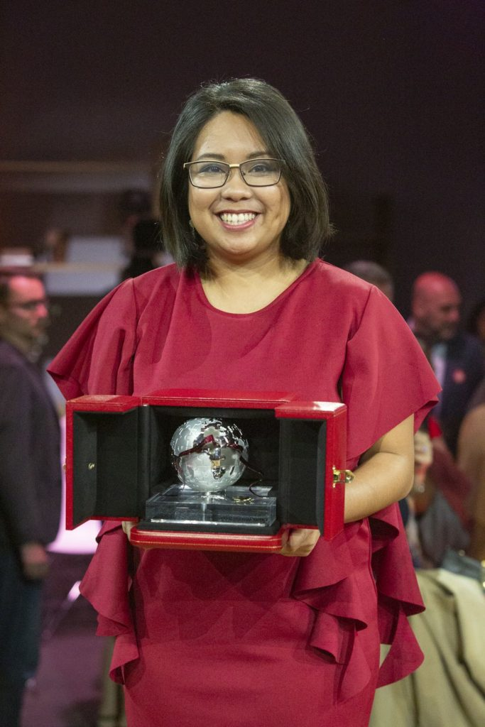 Carmina Bayombong (Philippines, South Asia and Oceania) Cartier's Women Initiative Awards 2019