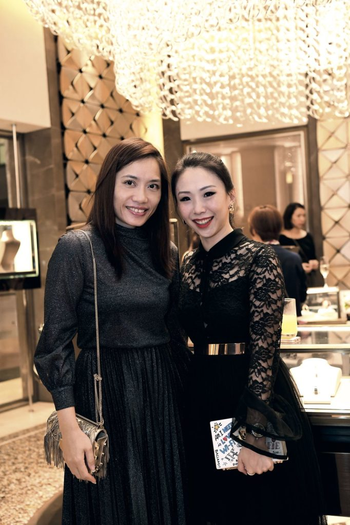 Lena Kwek and Loh May-Han