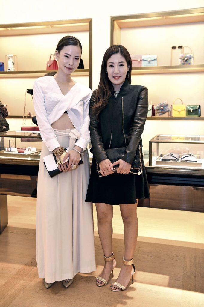Kazuha Kondo and Jinny Baek