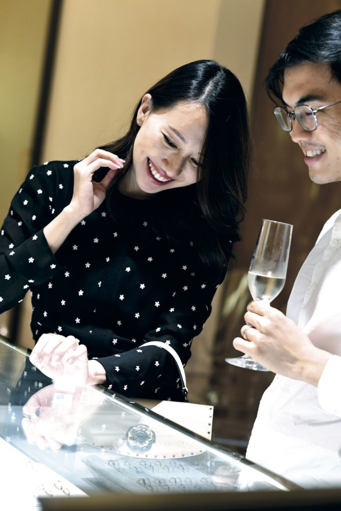 Michelle Koh and James Chen Prestige Bvlgari