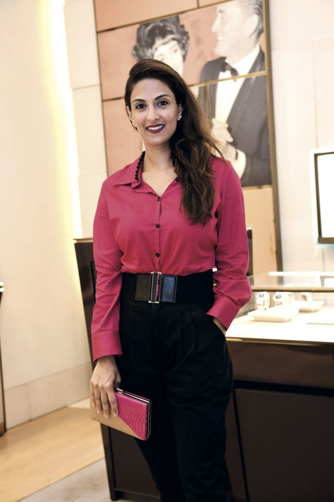 Shireena Shroff Manchharam Prestige Bvlgari