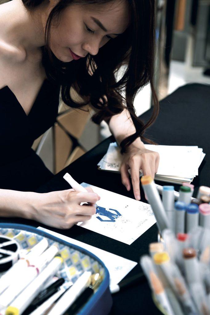 Illustrator Grace Ciao Bvlgari Prestige