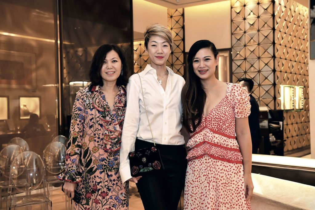Jenny Cheah, Grace Tay and Tjin Lee Prestige Bvlgari