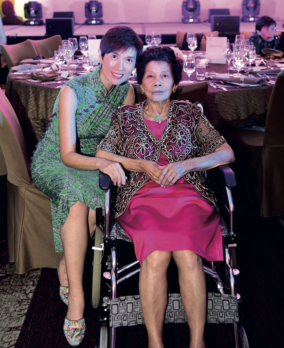 Josephine Teo and Janet Yee SCWO International Women's Day Gala