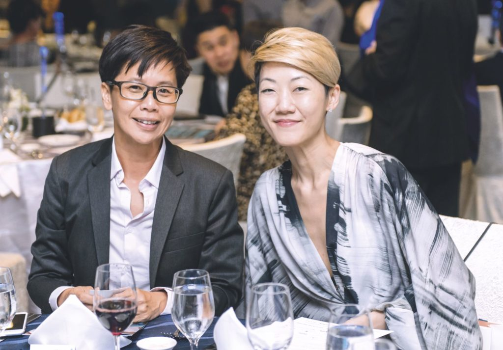 Achier Chung and Grace Tay Seakeepers Society Awards