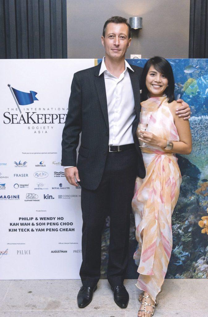 Sebastian Wanig Bernard and Maynipha Methajittiphan Seakeepers Society Awards