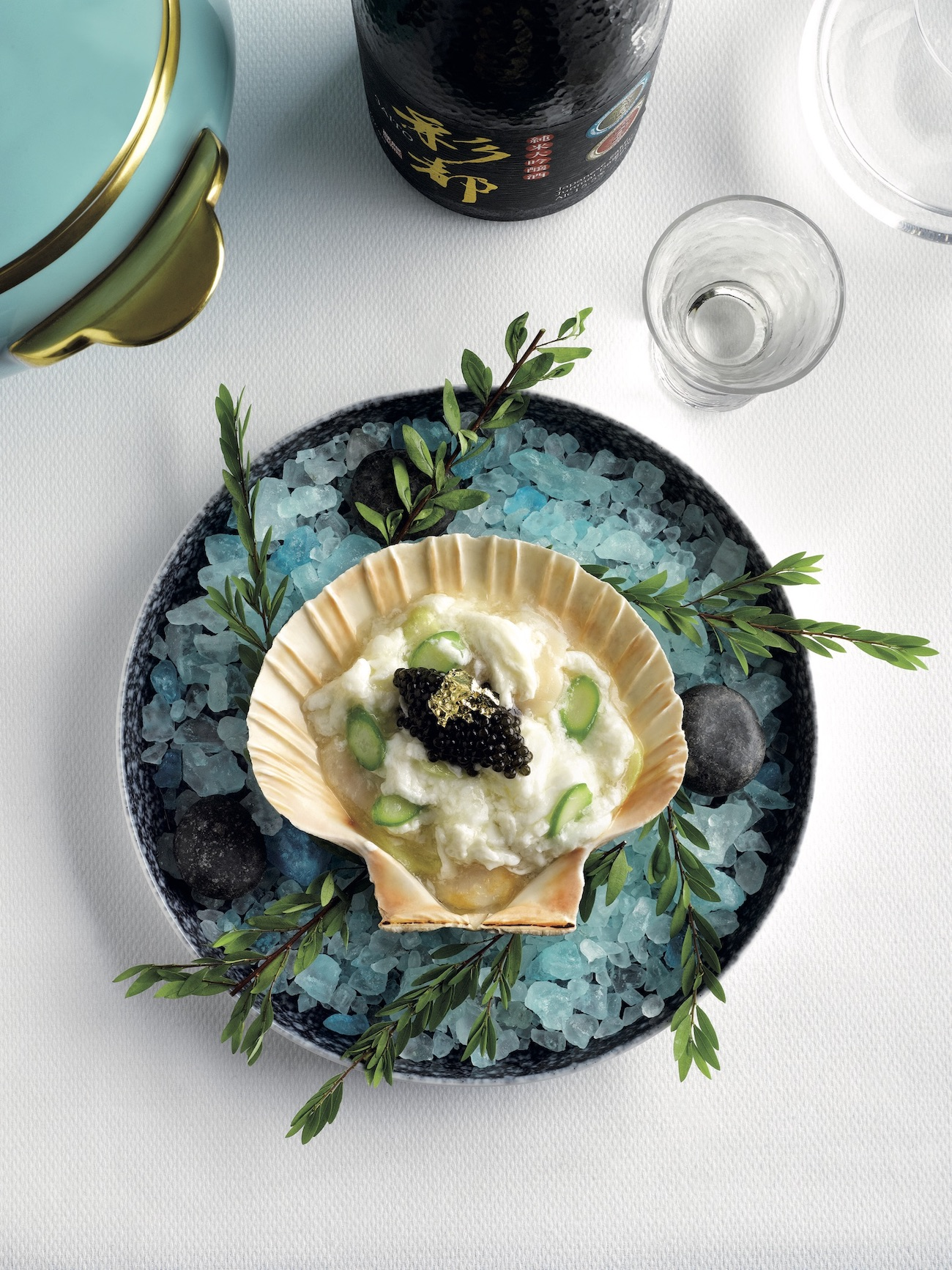 Scallop with Egg White Appetiser (Photo: Chinoiserie) ladies who lunch