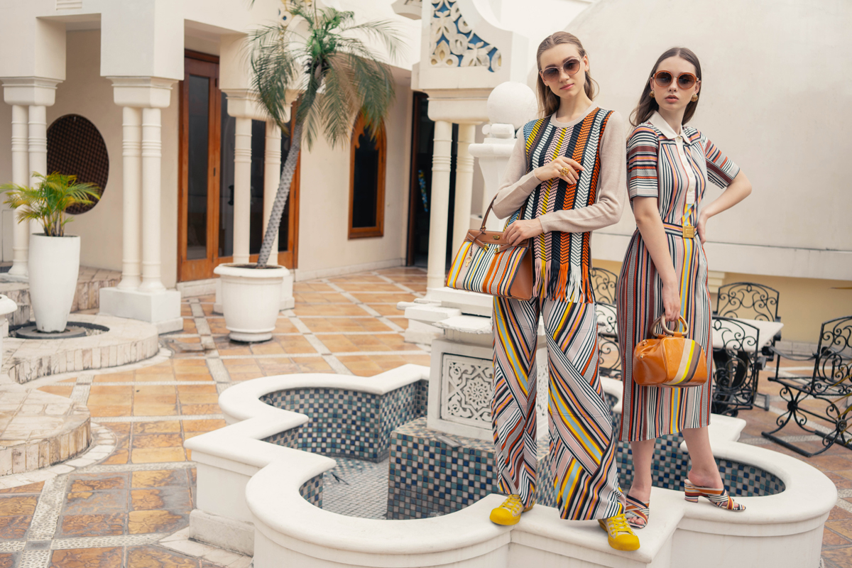 The Wanderlust Spirit in Tory Burch's Spring/Summer 2019 Collection