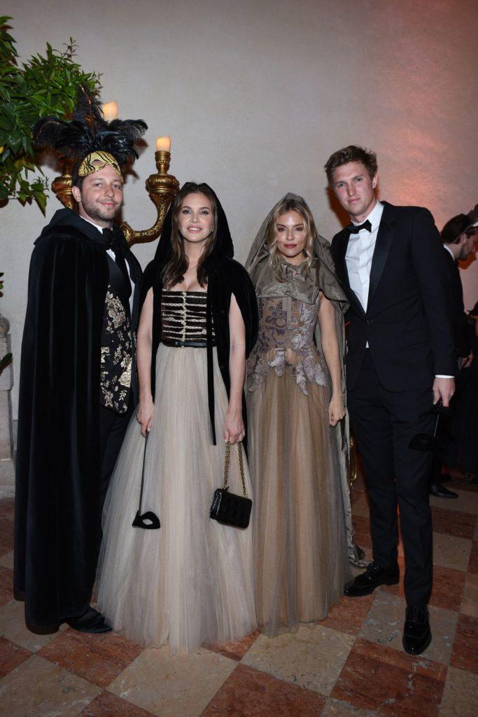 Dior Tiepolo Ball Derek Blasberg, Dasha Zhukova, Sienna Miller and Lucas Zwirner