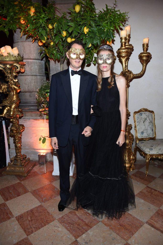 Dior Tiepolo Ball John Elkann and Lavinia Elkann