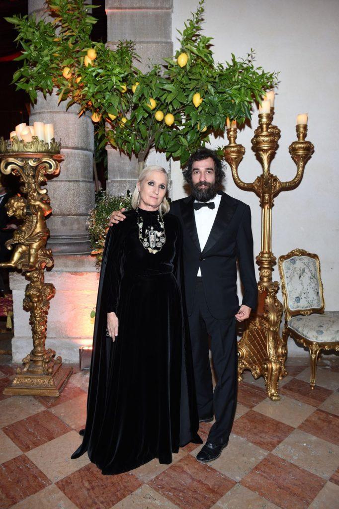 Dior Tiepolo Ball Maria Grazia Chiuri and Pietro Ruffo