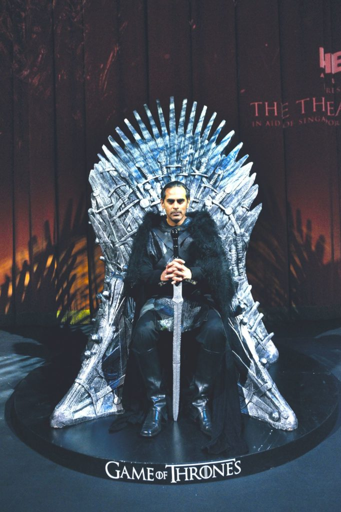 Singapore Repertory Theatre SRT Game of Thrones Ball Gaurav Kripalani