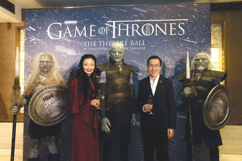 Singapore Repertory Theatre SRT Game of Thrones Ball