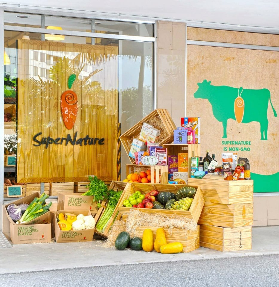 Where to buy organic produce in Singapore SuperNature