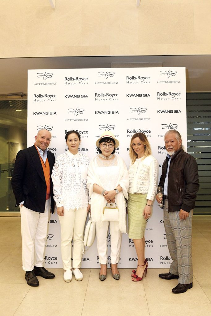 Federico Bertuzzi, Eun Joo Pae, Ockrang Kim, Bruna Vertuzzi and Brian Ang Hettabretz's Fall/Winter 2019 private dinner